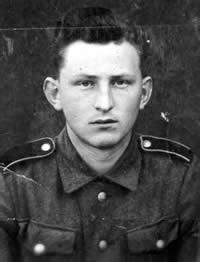 Raymond Ditchen en uniforme allemand