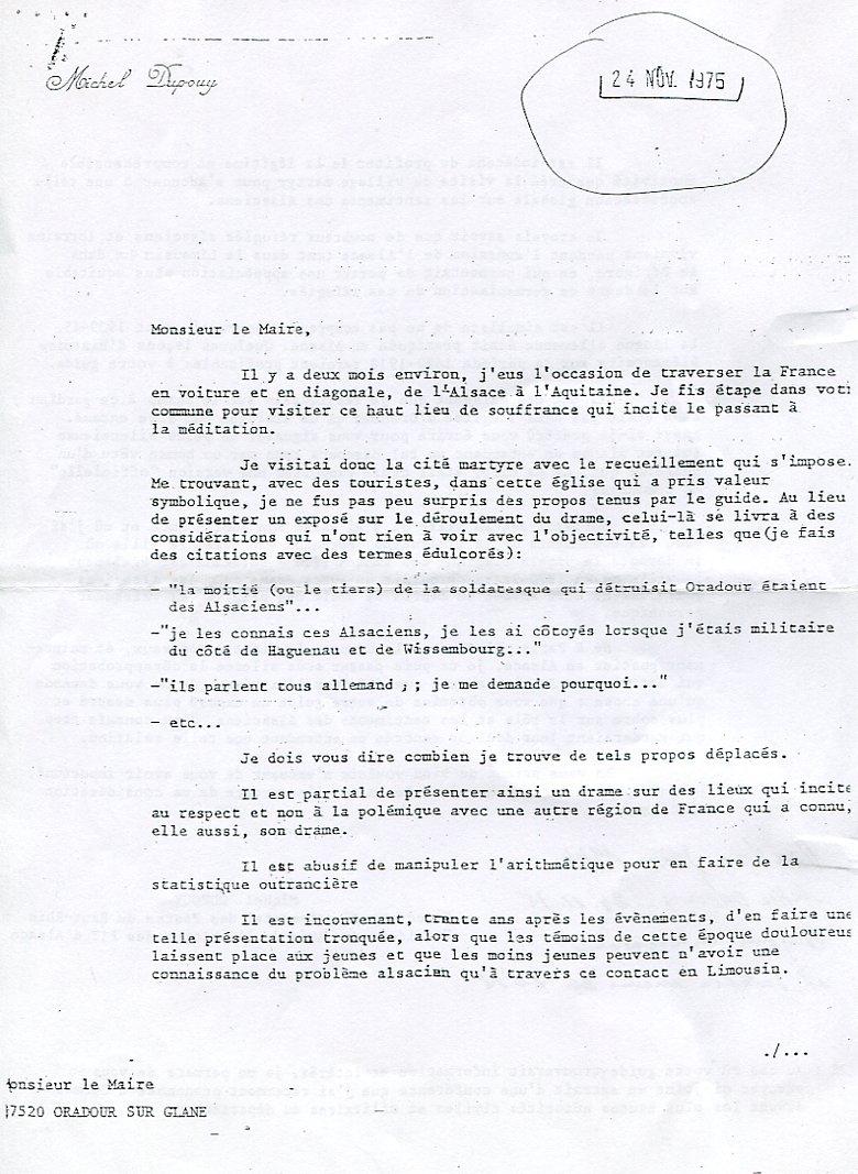 Alsaciens - Oradour 1975 1